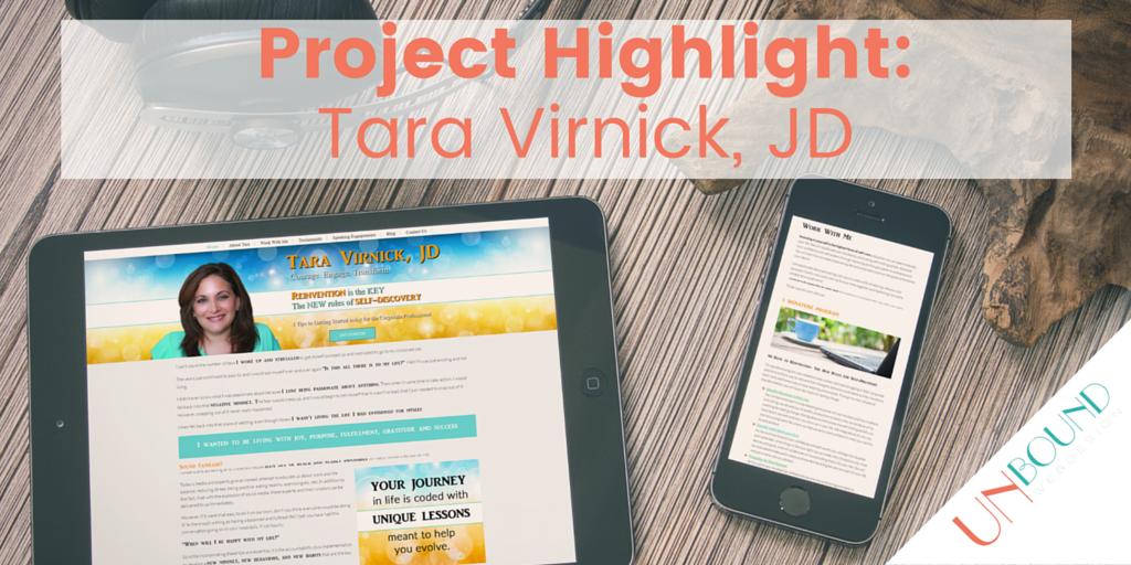 Project Highlight: Tara Virnick