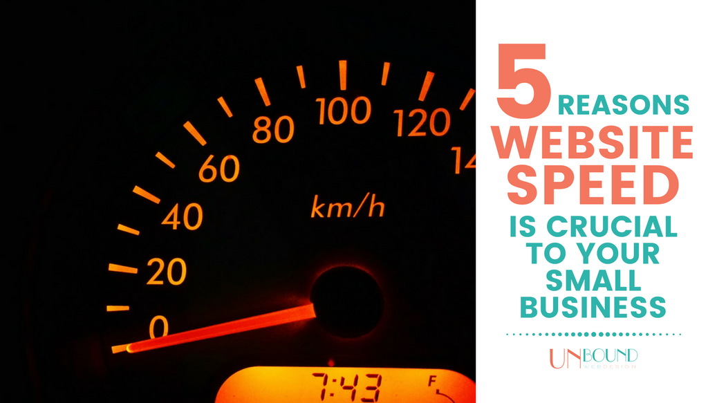 5 Reasons Site Speed is Crucial to Your Small Business