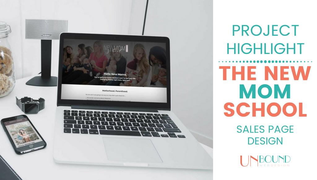 Project Highlight: New Mom School Online